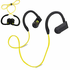 Sports Noise Cancelling Bluetooth Wireless Earphone Mic Handsfree for Smartphone