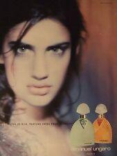 PUBLICITÉ 1994 EMANUEL UNGARO FLEUR DE DIVA - ADVERTISING