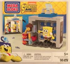 NIB Mega Bloks The SpongeBob Movie: Sponge Out of Water Photo Booth Time Machine