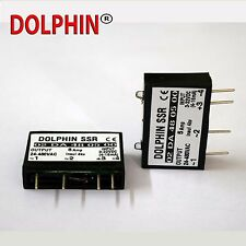 Solid State Relay  SSR PCB mounted  DC to AC  rating -  5 A   Make - Dolphin
