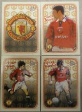 MANCHESTER UNITED FOOTBALL CARDS 1997 FUTERA TRADING CARDS 4 x Embossed Cards #3
