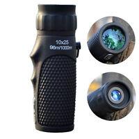 10X25 Zoom Telescope Dustproof Optical Hunting Lens Monocular Scope Binoculars