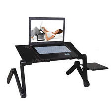 Portable Foldable Adjustable Laptop Cooler Table Stand Holder Tray Notebook Desk