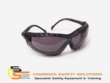 SGA Roamer Positive Seal Work Safety Glasses Smoke AS/NZS 1337.1