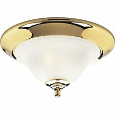 Hubbel Progress Lighting P3476-10 2-Light Flush Fixture Polished Brass