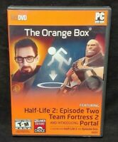 Orange Box Half-Life 2 (PC, 2007) Original PC CD-ROM Complete Mint Discs 1 Owner