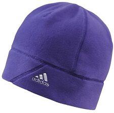 NWT adidas unisex run ski performance fleece beanie hat (G70607)One Sz purple