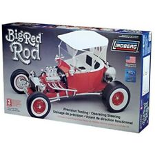 NEW Lindberg Big Red Rod Limited Edition 1/8 Scale Plastic Model Car Skill 3