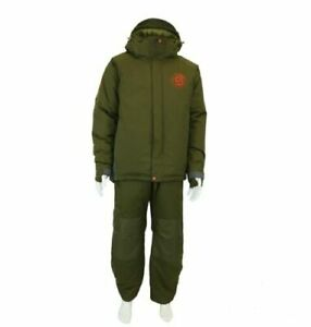 Trakker Core 3 Piece Carp Fishing Winter Suit - Jacket - Salopettes and Fleece