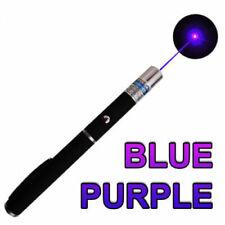 Mini Aaa Blue Purple Laser Pointer Pen 405nm Visible Beam Single Point Lazer