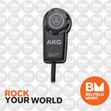 AKG C411PP C 411 PP Miniature Condenser Vibration Pickup Microphone