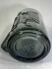VINTAGE Ronald McDonald Football Smoke Coffee Cup Drinking Glass Collectable
