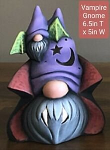 Pick 1 Halloween Gnome Characters Painted or Unpainted Ceramic Bisque