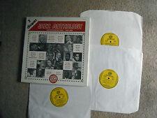 JAZZ ANTHOLOGY RARE 3 x LP SET HISTORY OF JAZZ 1902 / 1968 BOXED SET 1982 EXC