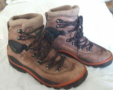 NIKE ACG Zoom Air Soft Brown Leather Trail Hiking Outdoor Boots Men US 7.5 EU 45