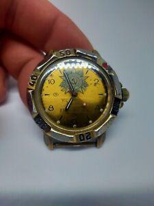 Watch Vostok Komandirskie wristwatch vintage USSR Russia