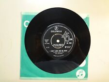 "HOTRODS:(Joe Meek)I Don't Love You No More-Ain't Going-U.K.7"" 65 Columbia DB7693"