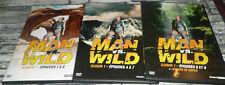 MAN VS WILD SAISON 1 L INTEGRALE /  9 EPISODES / LOT DE 3 DVD