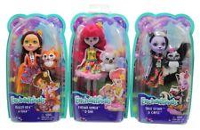 Enchantimals Puppen, 3er Set, Sage Skunk, Karina Koala, Felicity Fox mit Tieren
