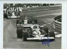 Clay Regazzoni Ferrari 312 T2 Monaco Grand Prix 1976 Signed Press Photograph