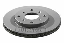 JURATEK FRONT BRAKE DISC FOR HONDA JAZZ 1339CCM 83HP 61KW (PETROL)