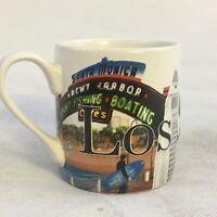 """Americanware Hollywood Los Angeles Ceramic Shot Glass Bar Barware Mini Mug 2.5"""""""