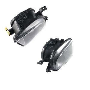 x2 Fog Light For 98-03 MERCEDES BENZ C43 CLK320 E320 E430 SLK230 CLK E SLK Class