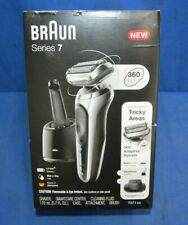 Braun Series 7 Model 7071cc Rechargeable Electric Shaver Silver Brand New Sealed