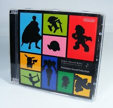 SUPER SMASH BROS PREMIUM SOUND SELECTION Original CD Spiel Soundtrack wii u 3ds