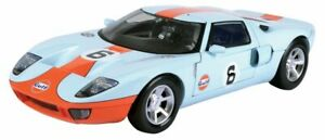 1:12 FORD GT Concept car Gulf orange & blue livery number 6 MOTOR MAX 79639