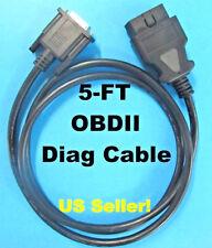OBDII Cable Compatible with Autel MaxiCOM MK908 Wireless Diagnostic Interface