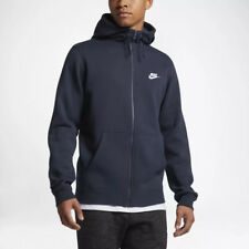 Nike M NSW hoodie FZ FLC Club Felpa con cappuccio Uomo Blu Ossidiana/blu