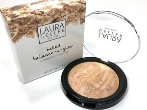 Laura Geller Baked Balance N Glow Foundation *Light * New In Box Full Size