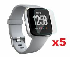 Fitbit Versa 5x Screen Protector Film Cover for Fitbit Smart Watch