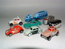 * Hotwheels , Johnny Lighting and Other Volkswagen Toy Vehicles ( Lot Of 8 )