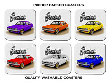 HOLDEN  TX  GEMINI  COUPE     SET OF  6   RUBBER DRINK  COASTERS