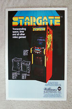 Stargate Arcade flyer promotional poster
