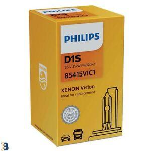 Philips D1S Vision Xenon Ersatzwagen Scheinwerfer Glühlampe 85415VIC1 HID Single
