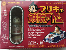 One Mini Tin Toy Uran Robot Atom Astro Cosmic Boy Astroboy Brown Candy Toy