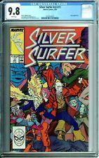 SILVER SURFER #v3 #11 CGC 9.8 WP NOVA  NEW NON CIRCULATED CGC CASE Marvel 1988