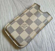 Authentic Louis Vuitton Damier Azur Iphone 4 Hard Phone Case Pouch Card holder