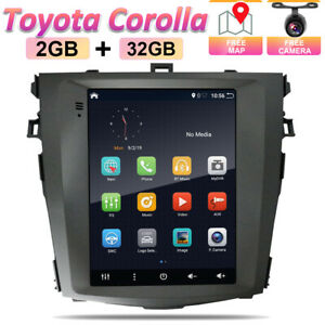 """9.7"""" Android 10.0 Car Stereo GPS For Toyota Corolla Navigation Head Unit CarPlay"""