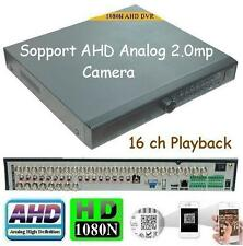 Sunvision 32Ch AHD 1080N Network CCTV DVR for IP/AHD/Analog Cameras w/ no HDD