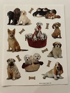 Vintage Hallmark Fog Stickers - One Sheet