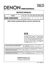 Service Manual-Anleitung für Denon DN-HS5500