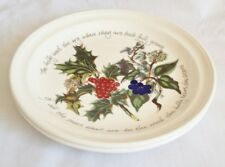 NEW Portmeirion The Holly and The Ivy Dinner Plates x 2 - UNUSED - 10 1/2 Inch