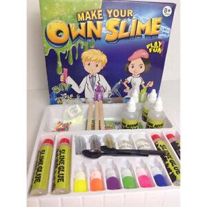 DIY Box Slime Putty Clay Kids Toy Christmas Xmas Present Gift Play Lab Kit Set