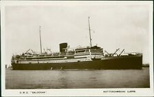 D.M.S. BALOERAN. Rotterdamsche Lloyd   QF.682