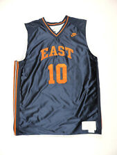 VTG & RARE 90s Nike Supreme Court Basketball East #10 Sewn on Reversible Jersey