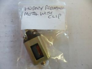 HORNBY REPLACEMENT MOTOR AND CLIP. GOOD RUNNER. FOR SPARES